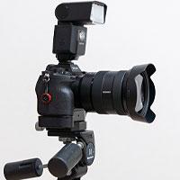 撮影機材とソフトウェアのイメージ