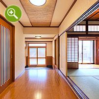 リフォーム済古民家玄関ホール撮影実例