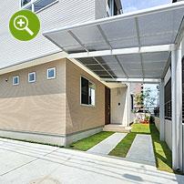 新築住宅外構写真撮影実例