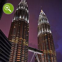 マレーシア夜景撮影実例