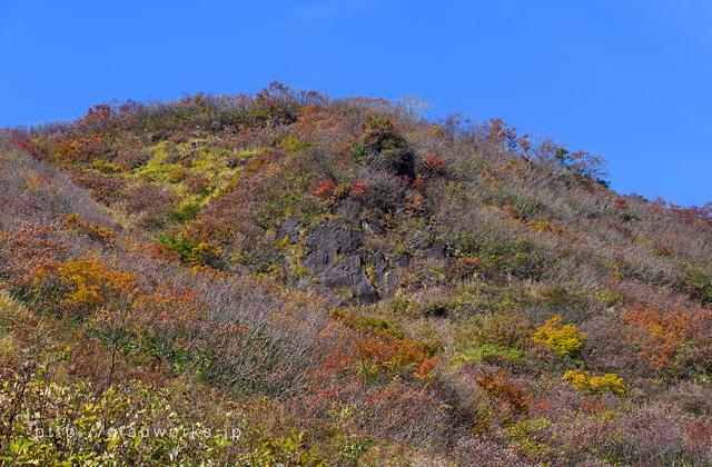 紅葉の谷川岳天神平2