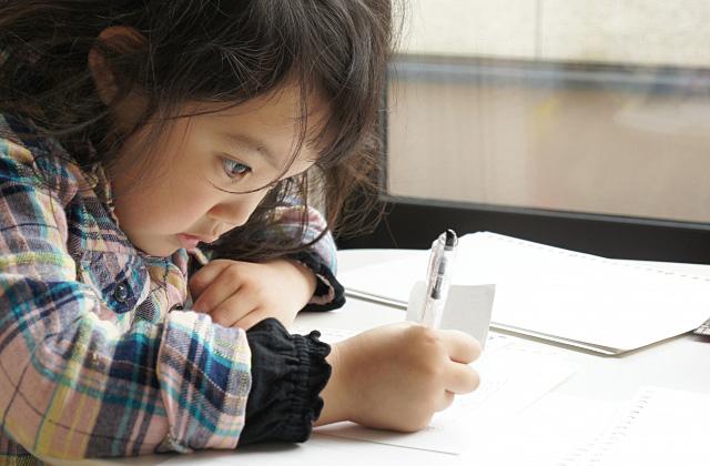 集中して勉強するイメージ