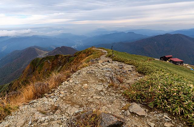 谷川岳登山コース画像