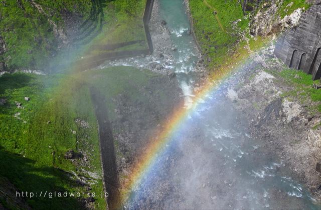虹の拡大画像