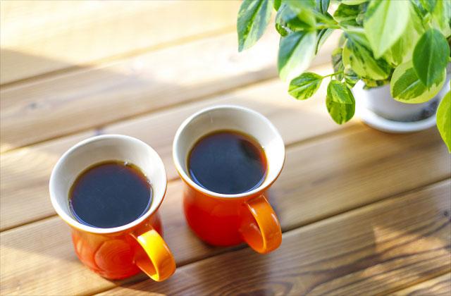 コーヒー2つのイメージ